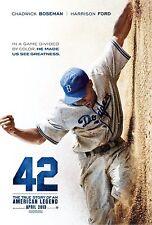 "New listing 42 movie poster - Chadwick Boseman poster (style b) 11"" x 17"" inches - Baseball"