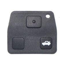 Boutons poussoir 3 touches pour coque clé télécommande Toyota Carina Yaris Lexus