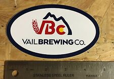 "NEW 5""x3"" Vail Brewing Co Die Cut Sticker Craft Brewery Vail, CO"