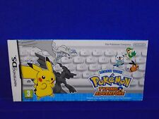 ds LEARN WITH POKEMON Typing Adventure +Keyboard NEW & Sealed PAL UK REGION FREE
