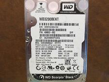 """Western Digita WD3200BEKT-60V5T1 DCM:HHNTJBNB 320gb 2.5"""" Sata Hard Drive"""
