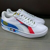 New Puma GV Special Subvert Shoes 371865-01 White Blue Red Men's Size 10