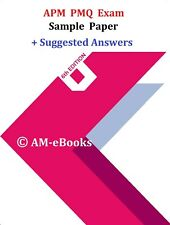 APM Project Management Qualification PMQ Exam 3 Sample Papers + Answers