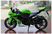 1:12 MaiSto Motorcycle Model For Kawasaki Ninja ZX-10R Superbike Model Toy Green