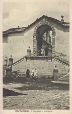 7194) BOCCADIRIO (BOLOGNA), L'INGRESSO DEL SANTUARIO A PONENTE. VG. NEL 1928.