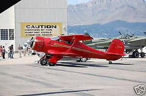 Beech D-17 Staggerwing D17 Wood Airplane Model Regular Free Shipping