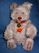 Steiff Teddy Baby Rosey, 3.Steiff Festival,Signatur von Tweed Roosevelt, 29 cm