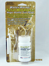 100 Water Hardness Test Strips Detect 0 to 1000 ppm or 0 - 58 gpg Total Hardness
