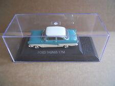 FORD TAUNUS 17M Legendary Cars 1:43 Die Cast in Box in Plexiglass [MV10]