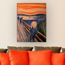 "WANDKINGS Leinwandbild Edvard Munch - ""der Schrei"" verschiedene Größen"