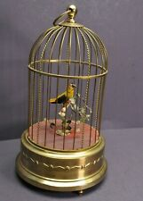 New ListingAntique German Karl Griesbaum Singing Bird Cage Mechanical Music Box Automaton