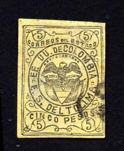 Colombia 1871 stamp Mi#3ND used