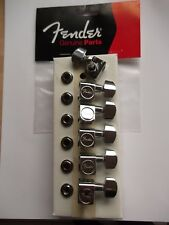 More details for fender tuners modern 2 pin locating fits usa or mexican in chrome 003-7429-049