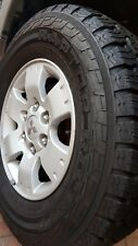 2003 Mitsubishi Pajero Alloy Wheels 4X16INCH NP USED 16X7 GENUINE A1 CLEAN SET