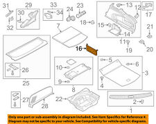 AUDI OEM 16-17 A7 Quattro Interior-Rear-Cargo Net 4G8861710DS2