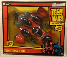 Teen Titans Go! T-Sub With Aqualad, Firing Action & Combines DC (MISB)