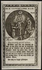 santino incisione 1600 S.VITTORIANO M.