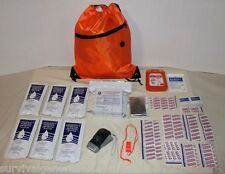 3 Day Emergency Food Water Blanket Whistle Flashlight 1st Aid Survival Kit 72 Hr