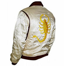 Slim Fit Disco Biker Rider Trucker Hot Ryan Gosling chaqueta Bordado Scorpion