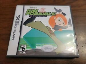 Kim Possible: Global Gemini (Nintendo DS, 2006) Complete - Tested - Authentic