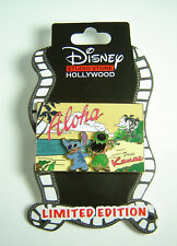 Disney Soda Fountain Pin Lilo and Stitch Kauai Postcard DSF LE 300 OC DSSH