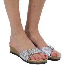 Evening Standard (B) Width Wet look, Shiny Flats for Women