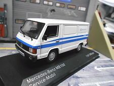 MERCEDES Van CAMION BUS MB 100 mb100 MERCEDES BENZ Service 1988 NUOVO Ixo 1:43