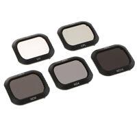 5 Pack ND4 ND8 ND16 UV CPL Lens Filter Set for DJI Mavic 2 Pro Filters