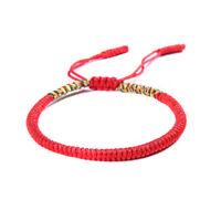 Lucky Handmade Buddhist Knots Rope Bracelet Tibetan Best Gift Women/Men Jewelry