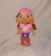 Disney Parks Jake And The Neverland Pirates Izzy Girl Doll Stuffed Plush 11""