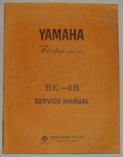 Yamaha Electone BK-4B BK4B Organ Service Repair Manual Schematics ESM26 FREESHIP