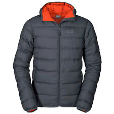 Jack Wolfskin Mens Helium Down Insulated Winter Hooded Jacket