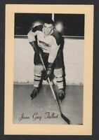 1944-63 Beehive Group II Montreal Canadiens Photos #289 Jean-Guy Talbot