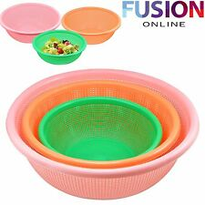 Strainer Bowl Colander Kitchen High Quality Hobby Plastic Handled Cooking Mixing