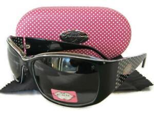 Phoebe Couture 402 Sunglasses Polarized Black Case Women