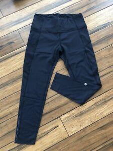 LuluLemon Leggings NEW ✅ SIZE 12 With Phone Pockets BLACK