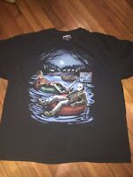 Freddy And Jason A Nightmare On Elm Street Camp Crystal Lake Men T Shirt Size 3X