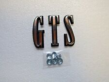 Mopar 68 Dart GTS Emblem / Letters 1968 Hood / Trunk Lid NEW