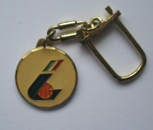Vintage Italian Basketball Federation Keychain