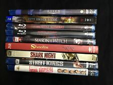 Lot of 9 Blu-ray Movies - Brand New Old Stock Sealed Unused (Lot #3)