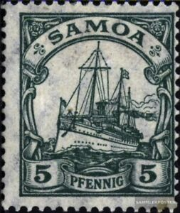 Samoa (German. Colony) 21 unmounted mint / never hinged 1900 Ship Imperial Yacht