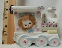 Napcoware Japan Puppy Train Nursery Planter C 6701 Baby Room Decor