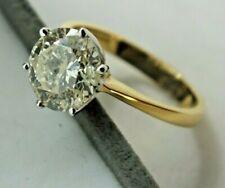 18 CT Ladies Solitaire Diamond 2.79ct ring