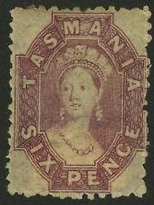 Tasmania   1864-91   Scott #  32    Mint Hinged