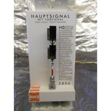** Busch 5806 Mainline Signal With Distant Combined 8 LED Lights 1:87 HO / 00