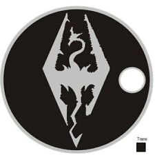 Skyrim Video Game Dragon Pathtag Coin X-Box Play Station Geocoin Geocache Metal