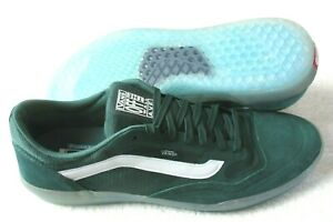 Vans Mens Ave Anthony Van Engelen Pro Skate shoes Pine Green Clear size 10 NWT