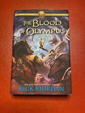 The Heroes of Olympus First Edition The Blood of Olympus by Rick Riordan (2014