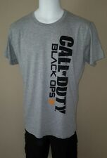 CALL OF DUTY BLACK OPS GREY BLACK GAME XL EXTRA LARGE MENS TEE SHIRT NEW W/TAGS