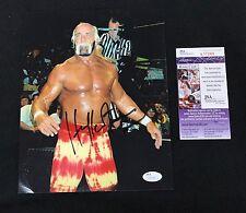 Hulk Hogan Signed 2002 WWE 8x10 Photo JSA Authenticated